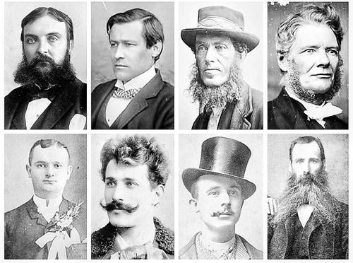 Mens Hairstyles Victorian Era Beauty Bellezza Beaute