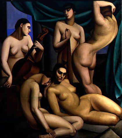 Tamara de Lempicka rhythm 1924
