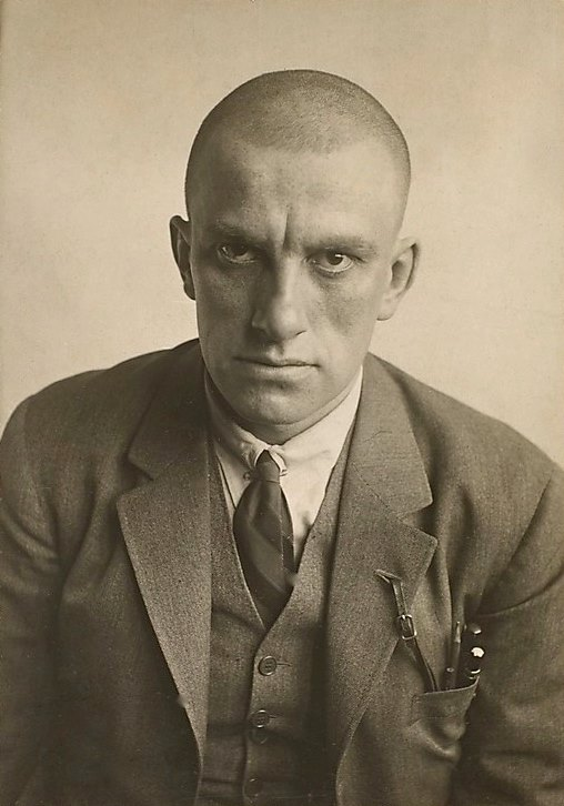 Vladimir Mayakovsky by Alexander Rodchenko, 1924.