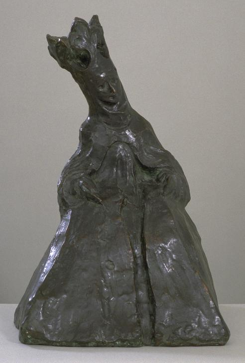 Madonna 1912, cast 1960s by Henri Gaudier-Brzeska 1891-1915