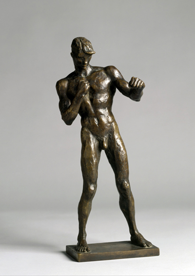 Sintenis, Renée, Boxer (Erich Brandl), Bronze, 1925 (Köln, Museum Ludwig, ML 76/SK 0013.  (Foto: © Rheinisches Bildarchiv Köln, Zimmermann, Rolf, rba_c011233)