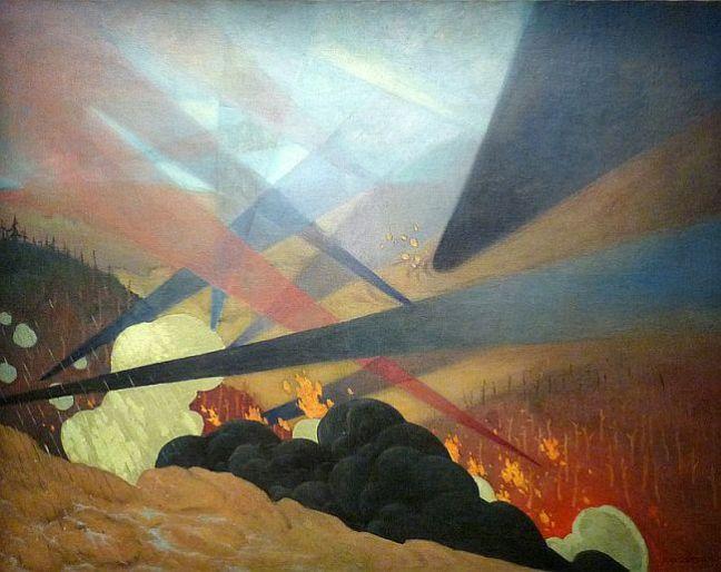 Verdun Tableau de guerre, 1917 (Félix Vallotton, 1865–1925)