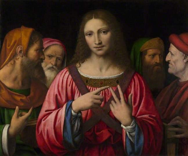 Luini, Bernardino, c.1480-c.1532; Christ among the Doctors