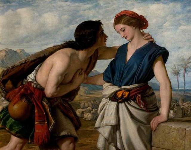 Dyce, William, 1806-1864; The Meeting of Jacob and Rachel