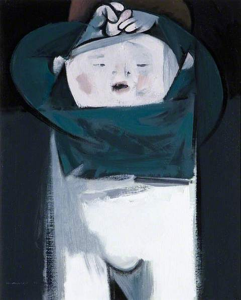 le Brocquy, Louis, 1916-2012; Tired Child