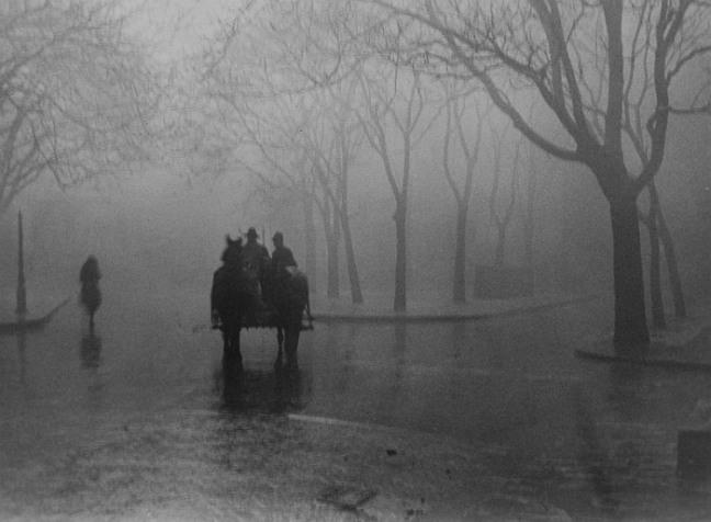 Hazy Day, Budapest, 1920