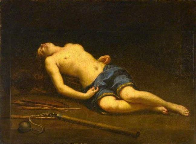 Cagnacci, Guido, 1601-1681; The Young Martyr