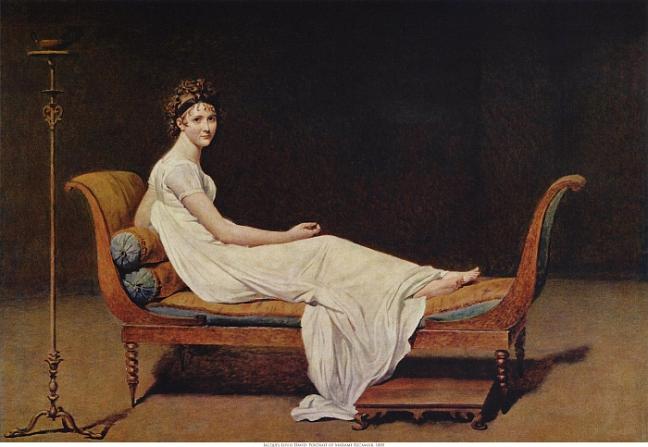 Portrait de Madame Récamier ou Portrait de Juliette Récamier