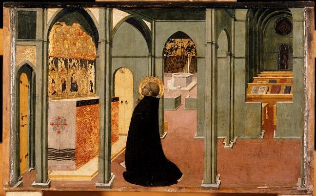 Sasetta: Aquinoi Szt. Tamás imája