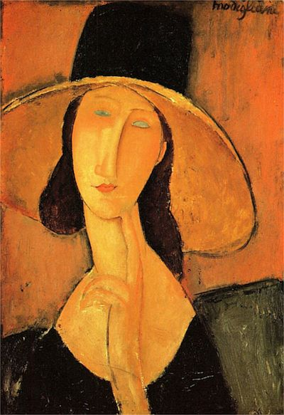 hat modigliani