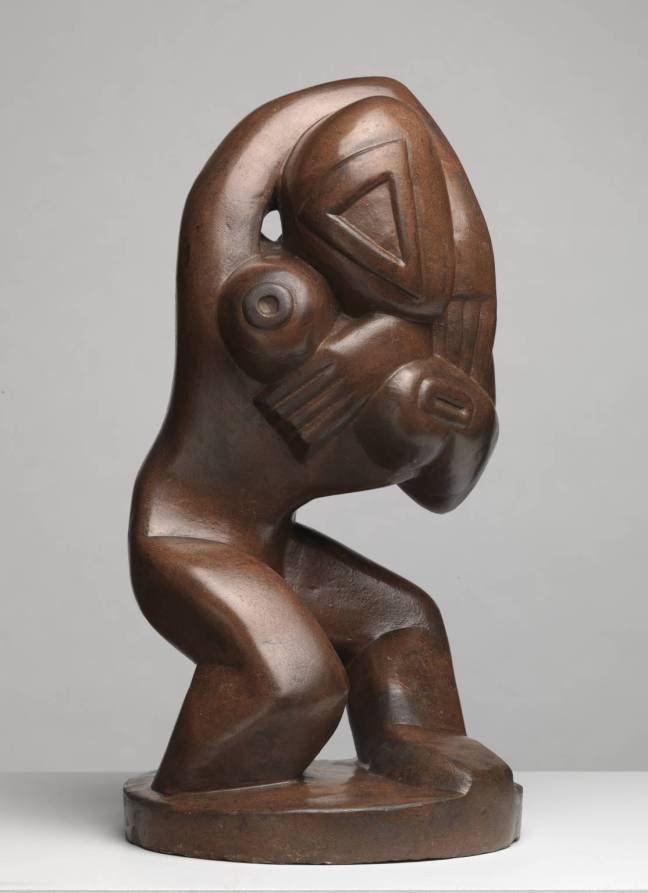 Red Stone Dancer c.1913 by Henri Gaudier-Brzeska 1891-1915